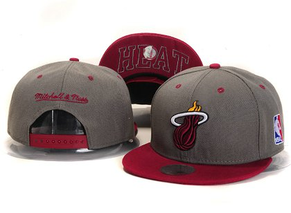 Miami Heat New Snapback Hat YS E65