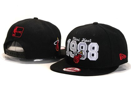 Miami Heat New Type Snapback Hat YS U8702