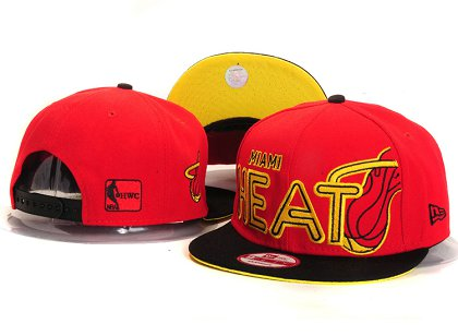 Miami Heat New Type Snapback Hat YS5603