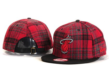Miami Heat Snapback Hat New Type YS 985