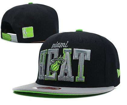 Miami Heat Snapback Hat SD 1f7