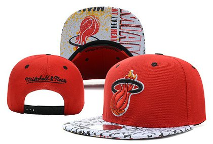 Miami Heat Snapback Hat XDF-2