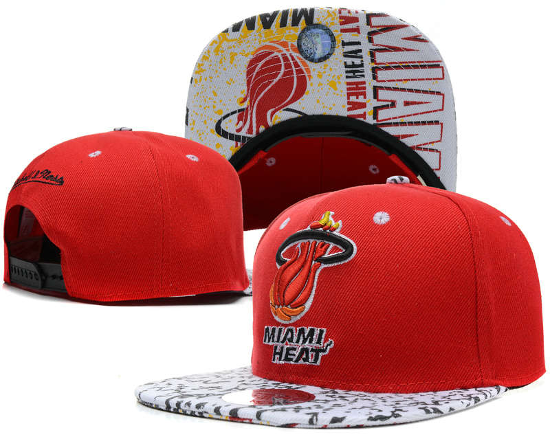 Miami Heat Snapback Hat SD 4