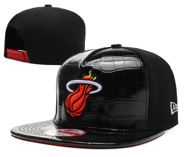 Miami Heat Snapback Hat SD 5