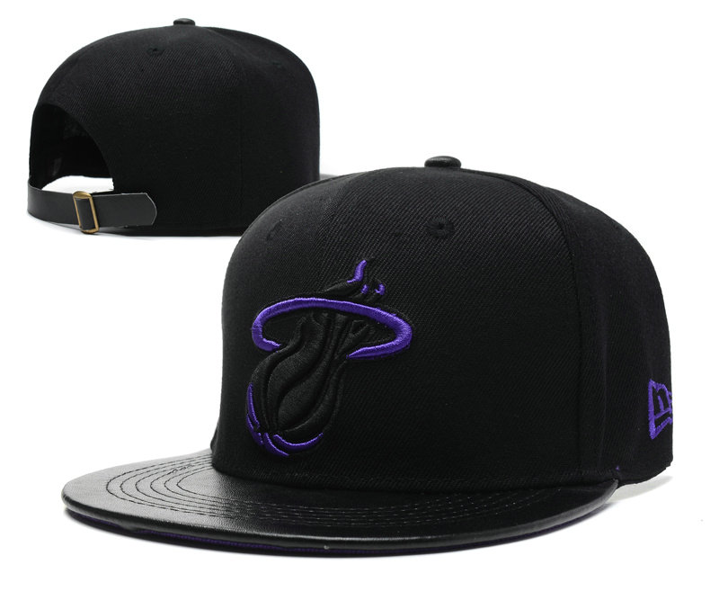 Miami Heat Snapback Hat SD 6