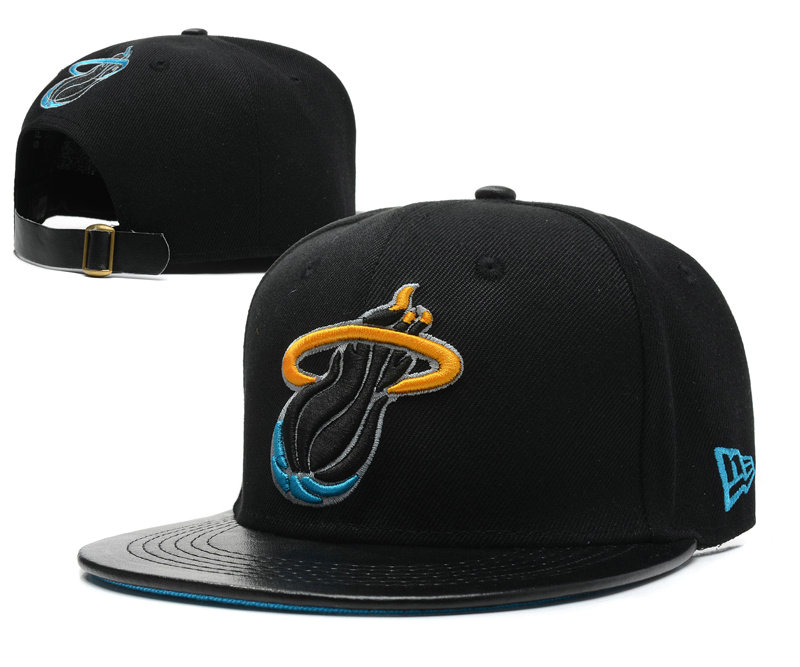 Miami Heat Snapback Hat SD 7