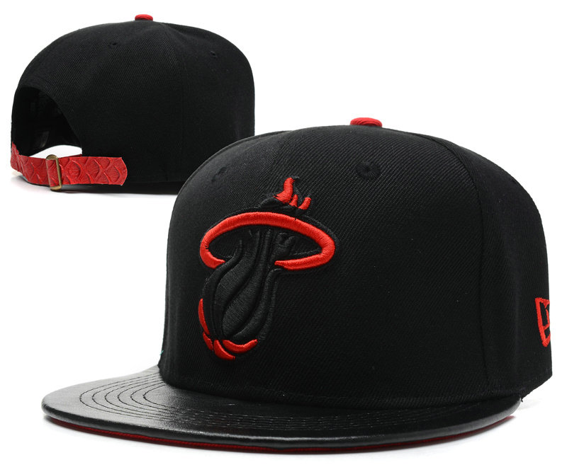 Miami Heat Snapback Hat SD 8