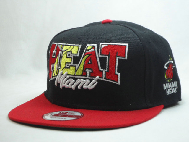 Miami Heat Snapback Hat SF 1