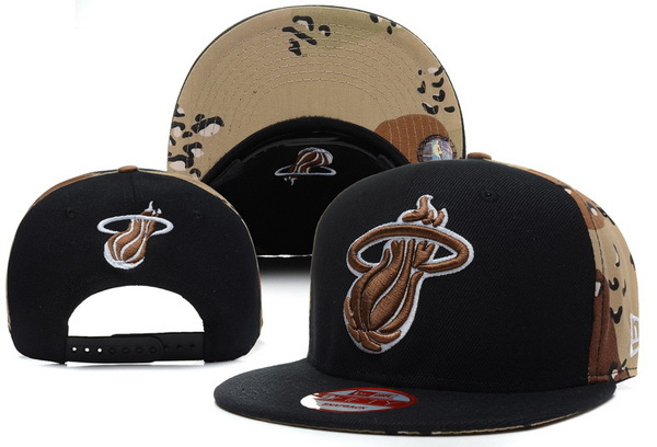 Miami Heat Snapback Hat XDF 8