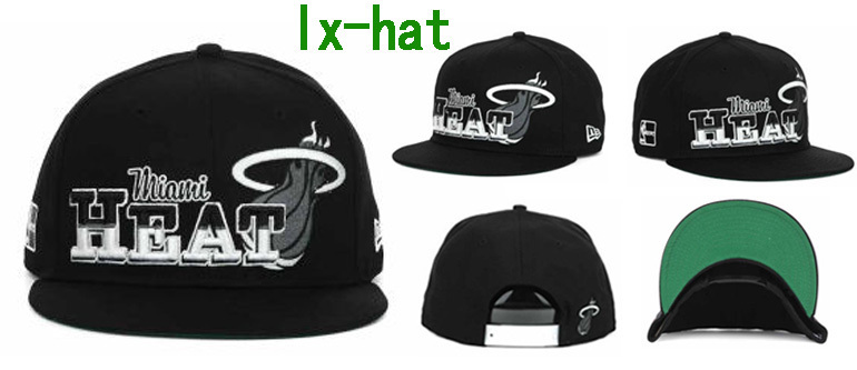 Miami Heat Snapback Hat GF 2
