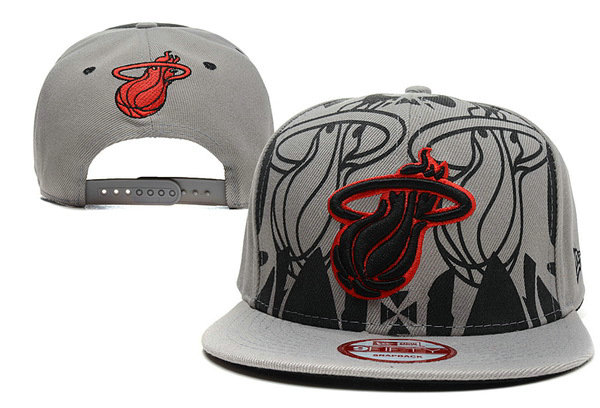 Miami Heat Snapback Hat XDF 2