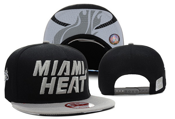 Miami Heat Snapback Hat XDF 5