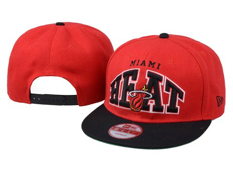 Miami Heat NBA Snapback Hat 60D01