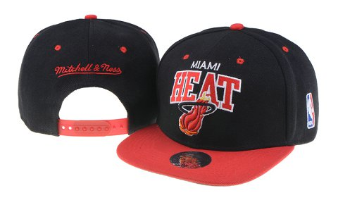 Miami Heat NBA Snapback Hat 60D04