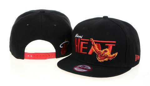 Miami Heat NBA Snapback Hat 60D07