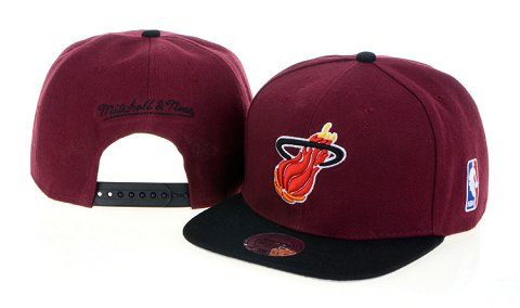Miami Heat NBA Snapback Hat 60D08