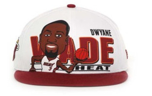 Miami Heat NBA Snapback Hat 60D10