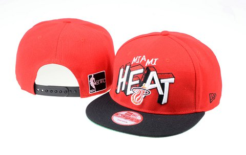 Miami Heat NBA Snapback Hat 60D11