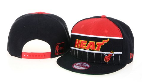 Miami Heat NBA Snapback Hat 60D14