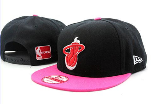 Miami Heat NBA Snapback Hat 60D16