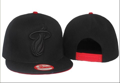 Miami Heat NBA Snapback Hat 60D17