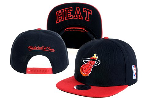 Miami Heat NBA Snapback Hat 60D23