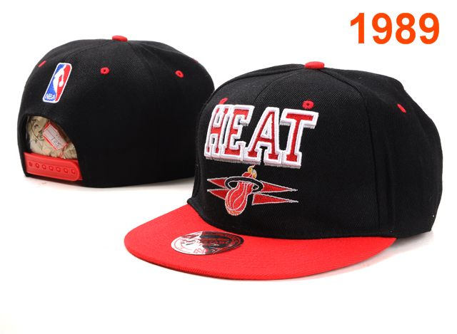 Miami Heat NBA Snapback Hat PT009