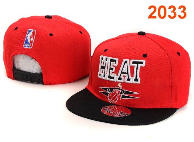 Miami Heat NBA Snapback Hat PT017