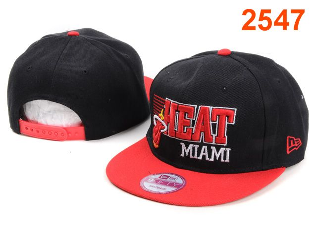 Miami Heat NBA Snapback Hat PT070