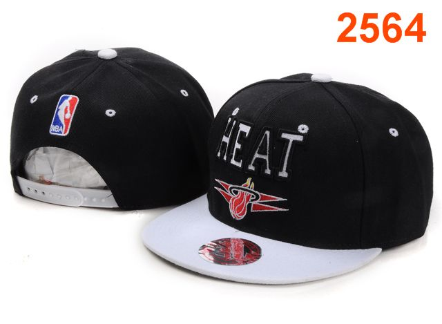 Miami Heat NBA Snapback Hat PT085
