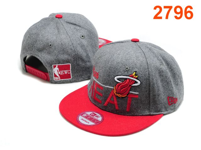 Miami Heat NBA Snapback Hat PT092