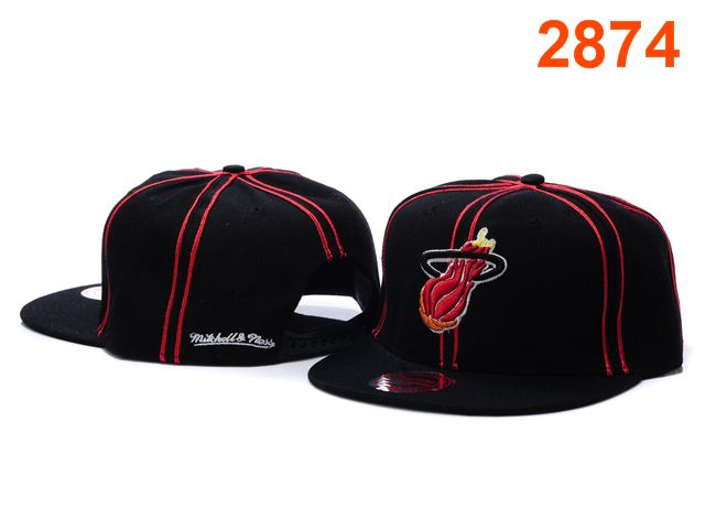 Miami Heat NBA Snapback Hat PT117