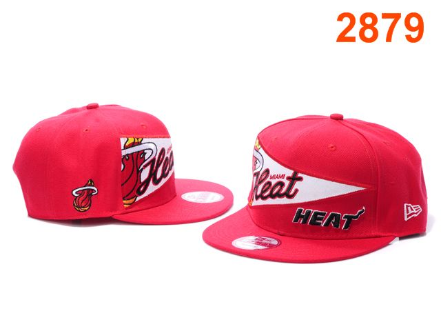 Miami Heat NBA Snapback Hat PT122
