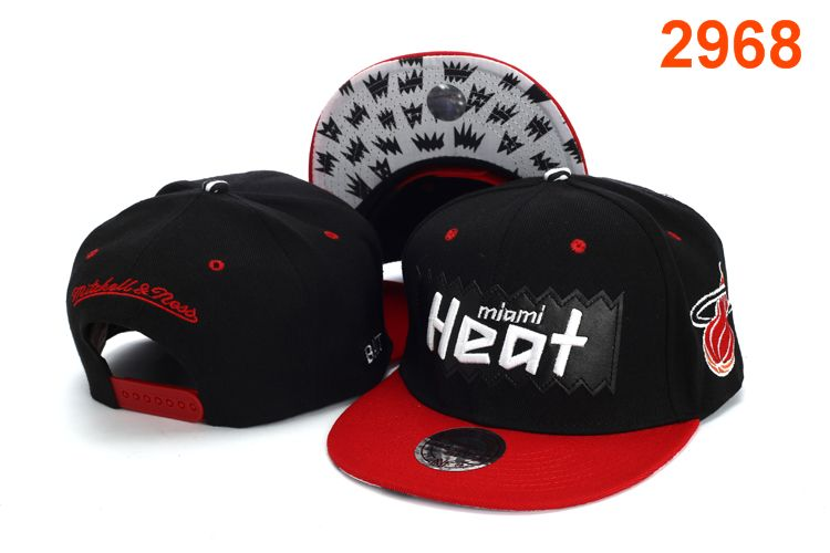 Miami Heat NBA Snapback Hat PT131