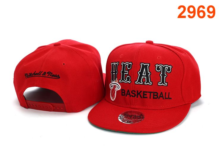 Miami Heat NBA Snapback Hat PT132