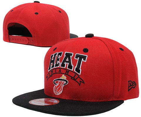 Miami Heat NBA Snapback Hat SD01