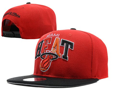 Miami Heat NBA Snapback Hat SD05