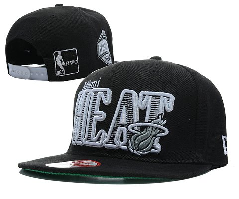 Miami Heat NBA Snapback Hat SD07
