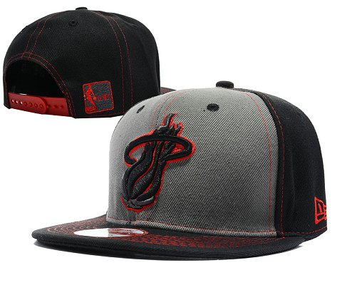 Miami Heat NBA Snapback Hat SD10