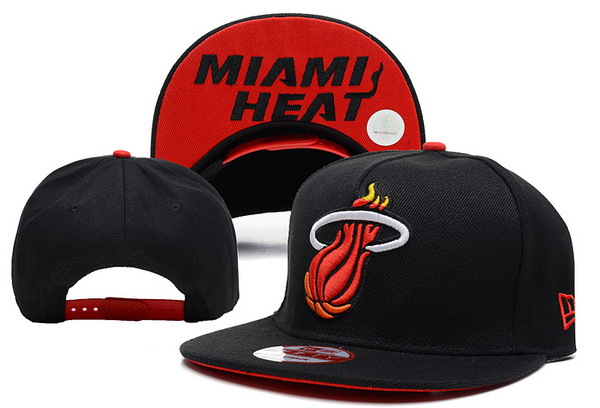 Miami Heat NBA Snapback Hat SD12