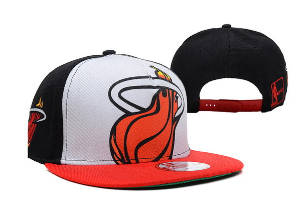Miami Heat NBA Snapback Hat SD13