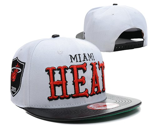 Miami Heat NBA Snapback Hat SD14