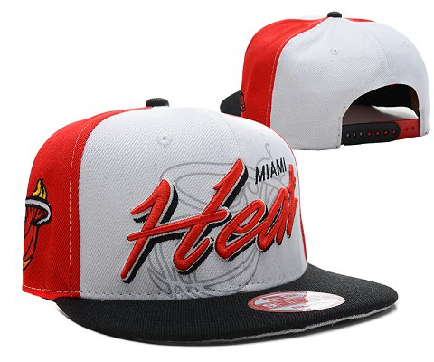 Miami Heat NBA Snapback Hat SD15