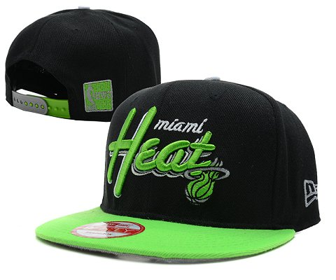 Miami Heat NBA Snapback Hat SD18