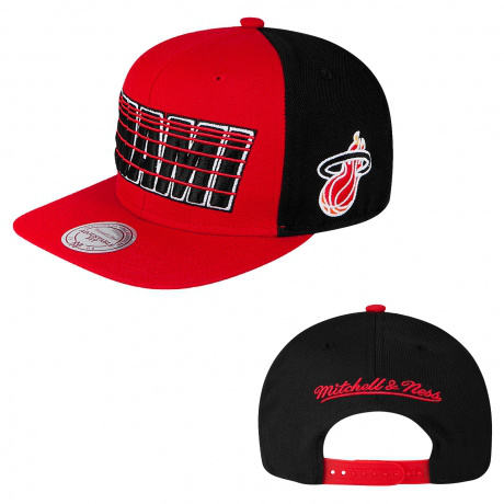 Miami Heat NBA Snapback Hat SD22