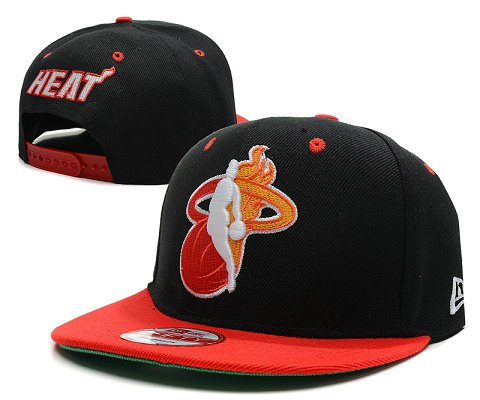 Miami Heat NBA Snapback Hat SD23