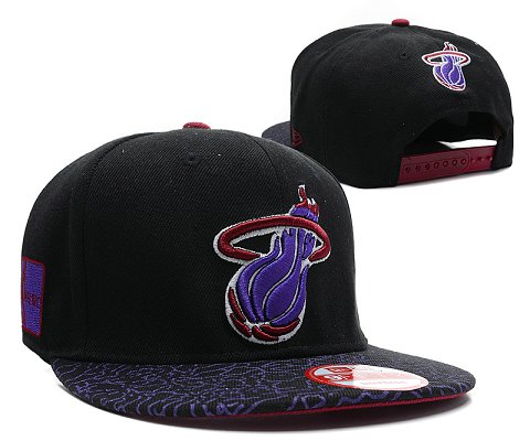 Miami Heat NBA Snapback Hat SD24