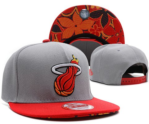 Miami Heat NBA Snapback Hat SD25