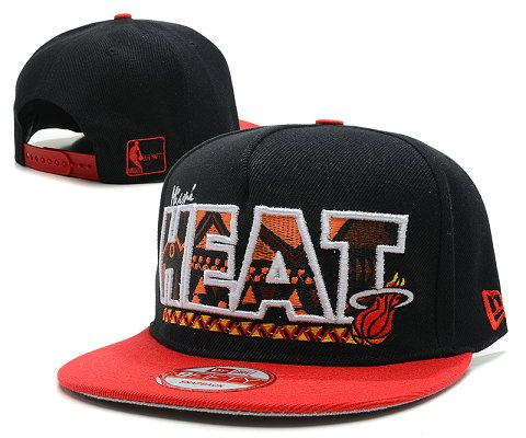 Miami Heat NBA Snapback Hat SD32