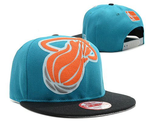 Miami Heat NBA Snapback Hat SD33